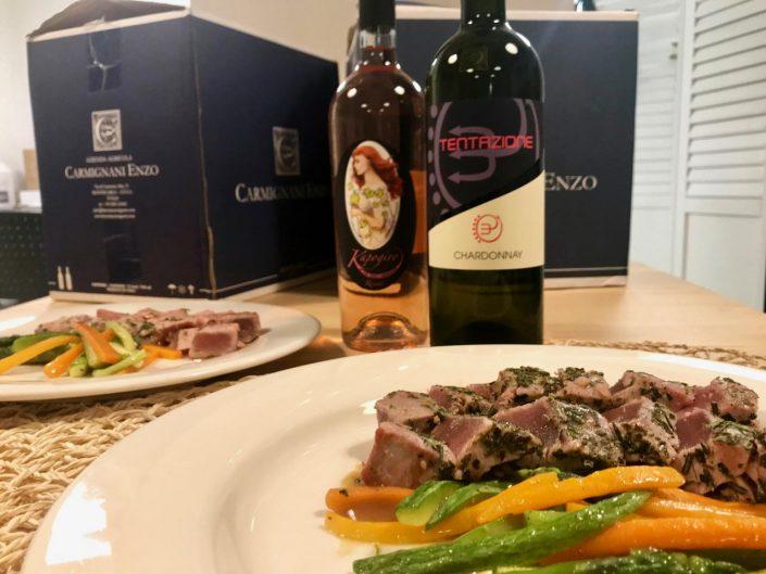 vini Enzo Carmignani cena a tema